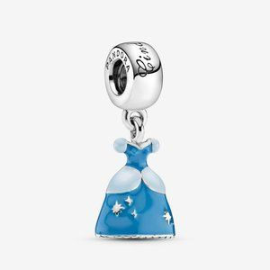 Pandora Disney Cinderella's Dress Dangle Charm